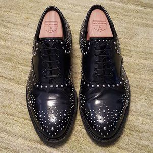 Men's US 7 Zara studded oxfords